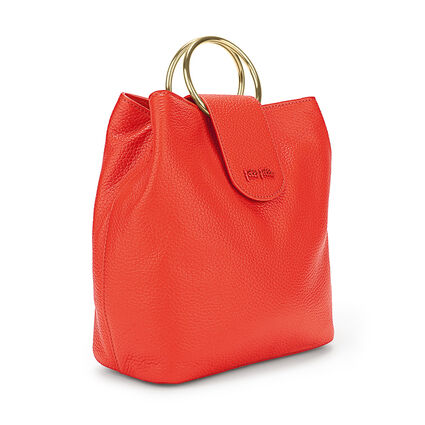 Shape Art Medium Bucket Bag, Orange, hires