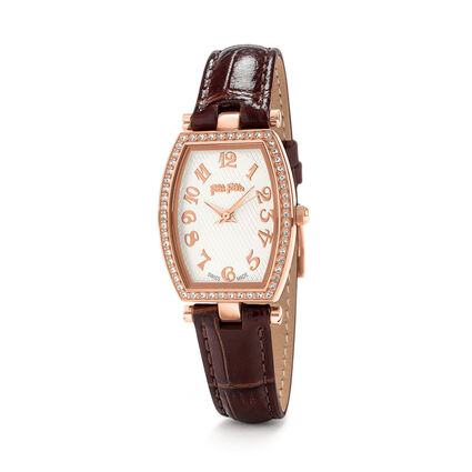 Debutant Bliss Swiss Made Reloj, Brown, hires