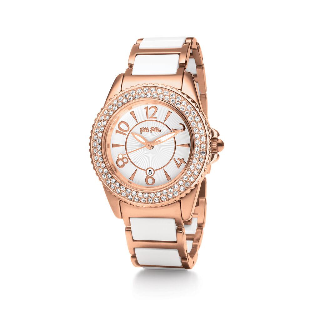 GLOW Watch, Bracelet White, hires