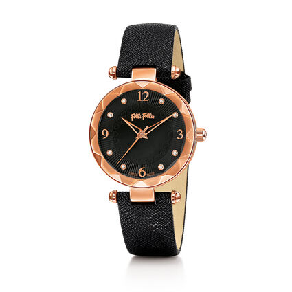 Classy Element Watch, Black, hires