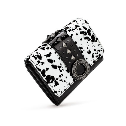 Funky Safari Small Foldable Wallet, White, hires