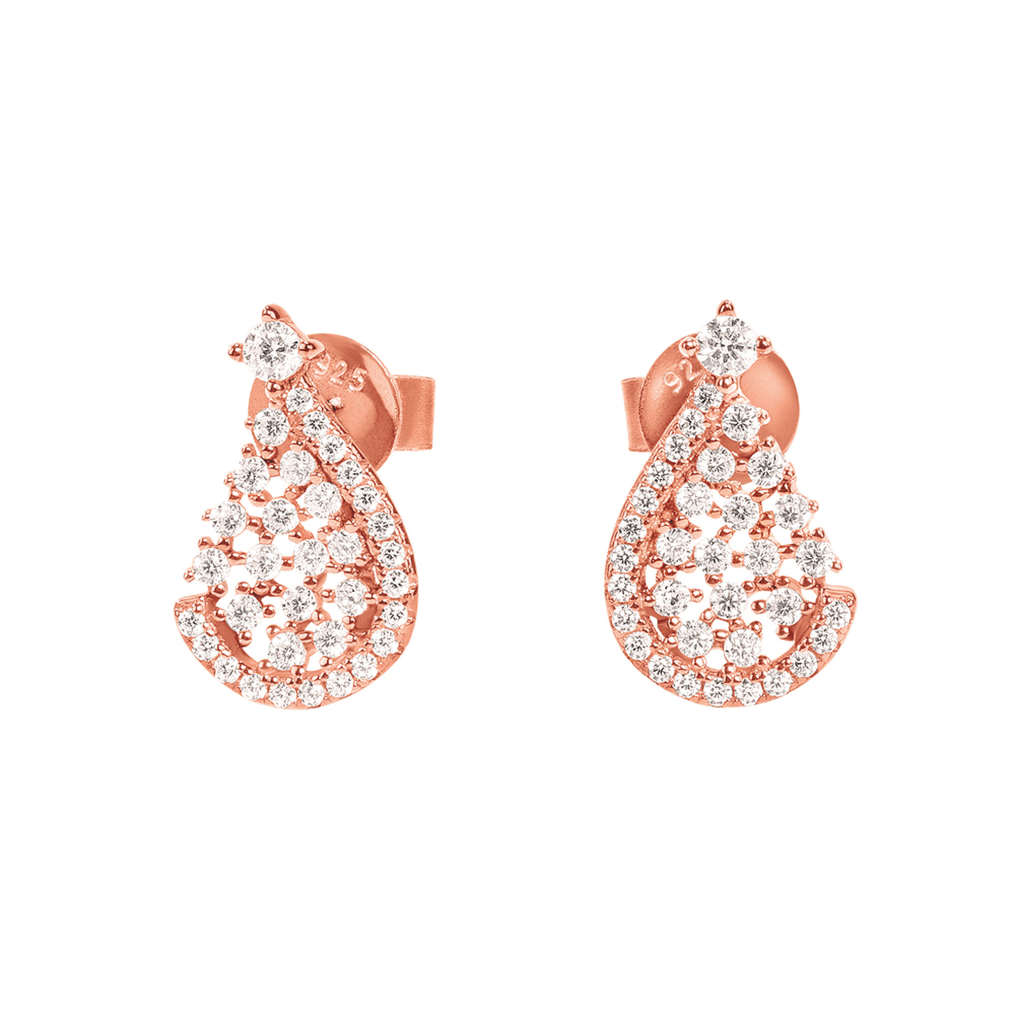Folli Follie Sparkle Chic Short Earrings