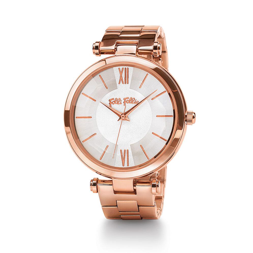 Lady Bubble Bracelet Watch, Bracelet Rose Gold, hires