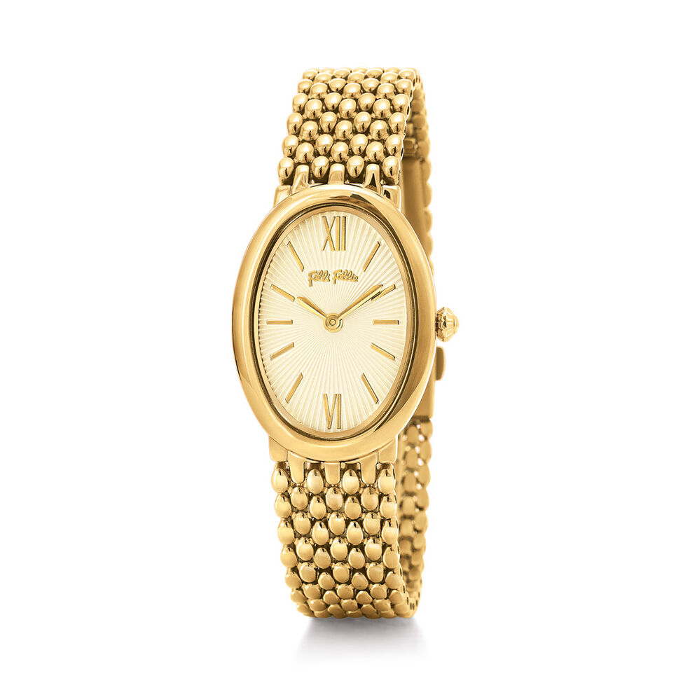 Style Melody Reloj, Bracelet Yellow Gold, hires