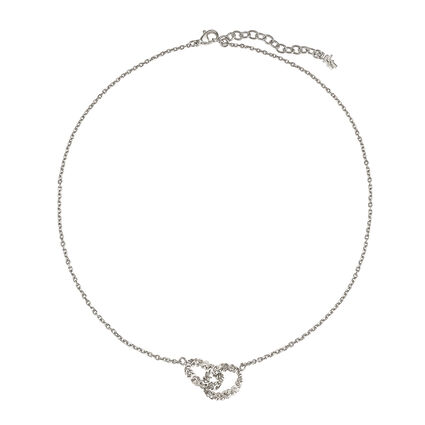 Love & Fortune Silver Plated Necklace, , hires