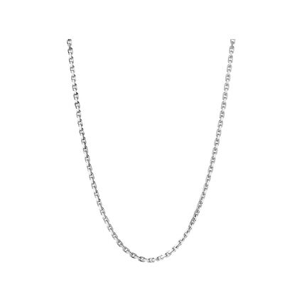 Essentials Sterling Silver Trace Chain, , hires