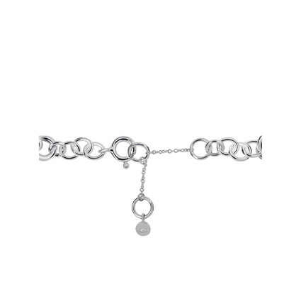 Sweetie Sterling Silver Chain Charm Bracelet, , hires