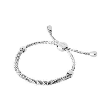 Effervescence Sterling Silver & Pewter Cord XS Bracelet, , hires