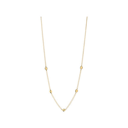 Grace Yellow Gold Vermeil Station Necklace, , hires