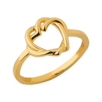 Kindred Soul 18K Yellow Gold Vermeil Ring, , hires