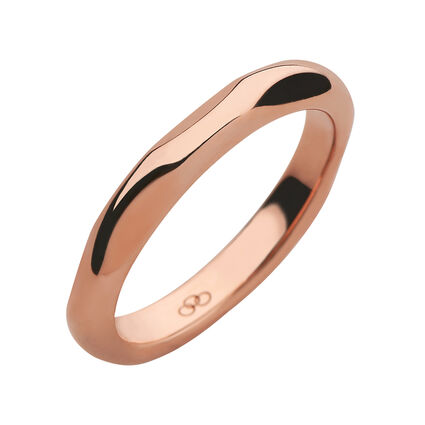 20/20 18K Rose Gold Band Ring, , hires