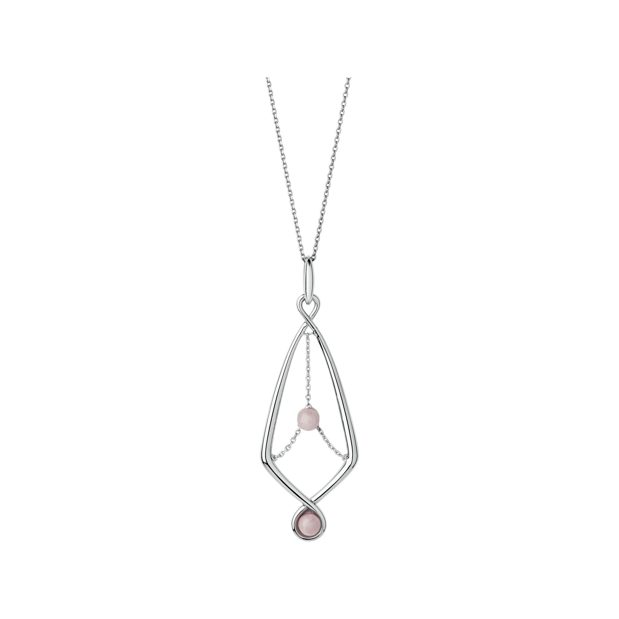 silver pink rose rhodolite in freshwater sterling and toned jewelry necklace pearl gold zoccai