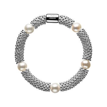 Effervescence Star White Pearl Bracelet, , hires