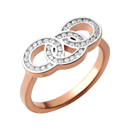 Signature 18kt Rose Gold Vermeil & Sapphire Ring, , hires