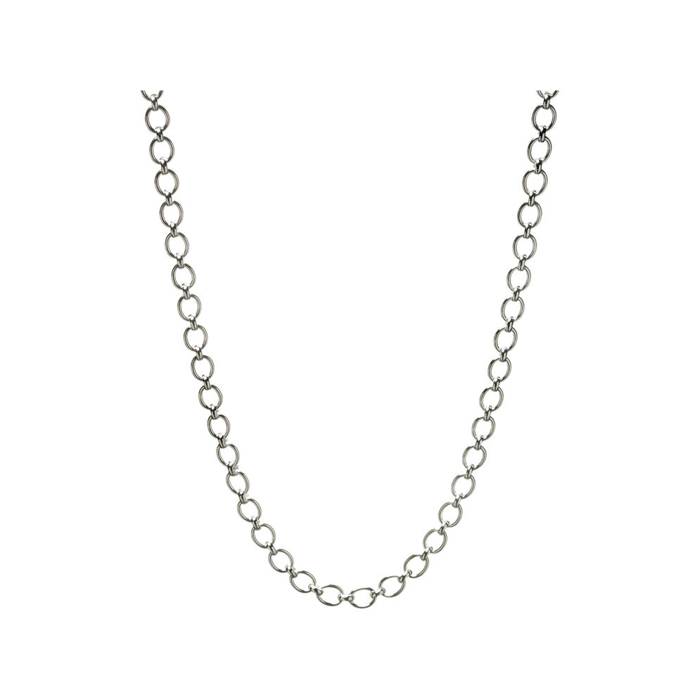 Essentials Sterling Silver Classic Links of London Necklace, , hires