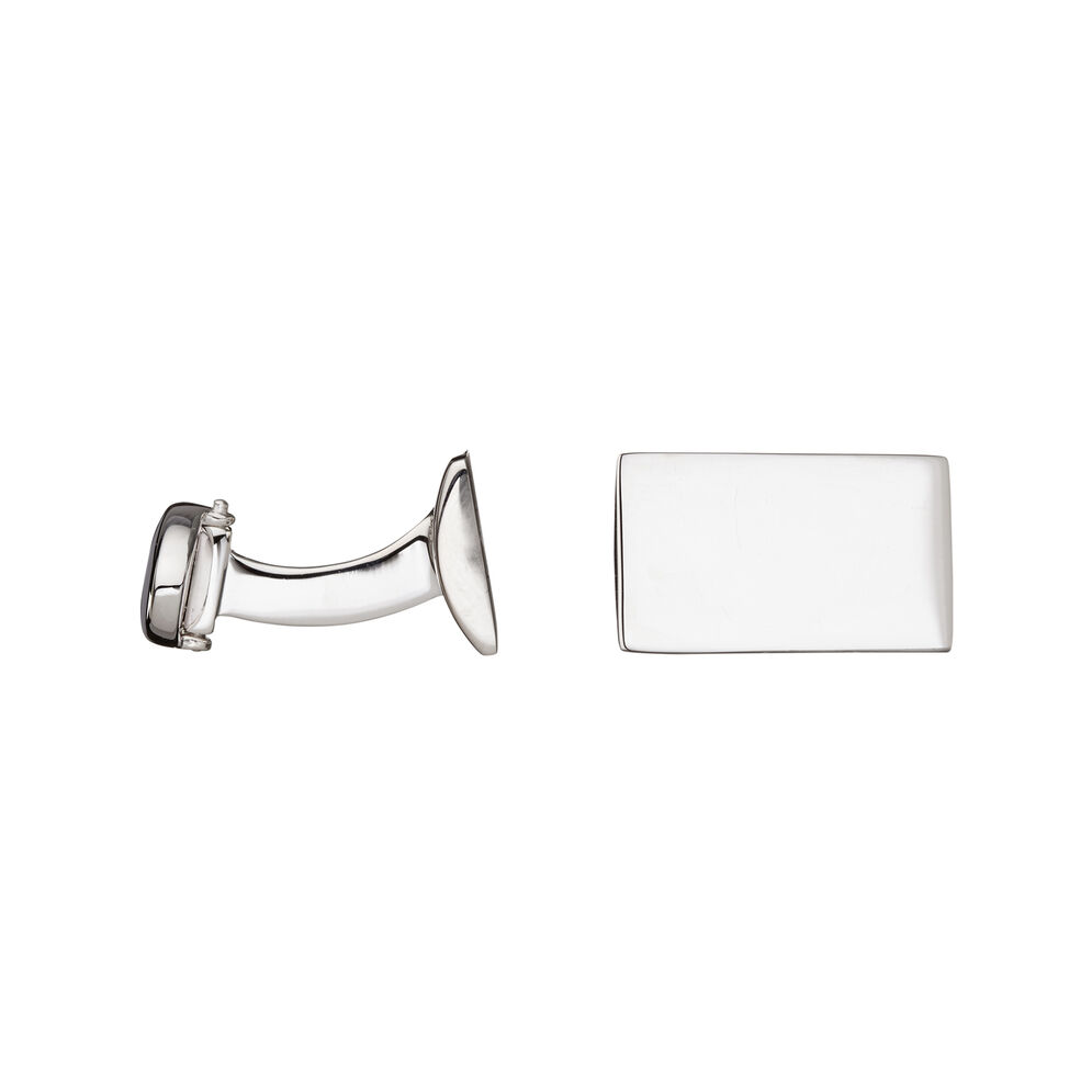 Sterling Silver Rogue Identity Cufflinks, , hires