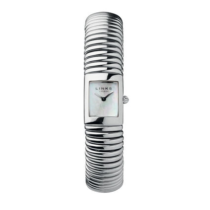 Sweetie White Mother of Pearl & Stainless Steel Watch, , hires