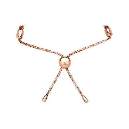 Starlight 18kt Rose Gold Vermeil & Sapphire Square Bracelet, , hires