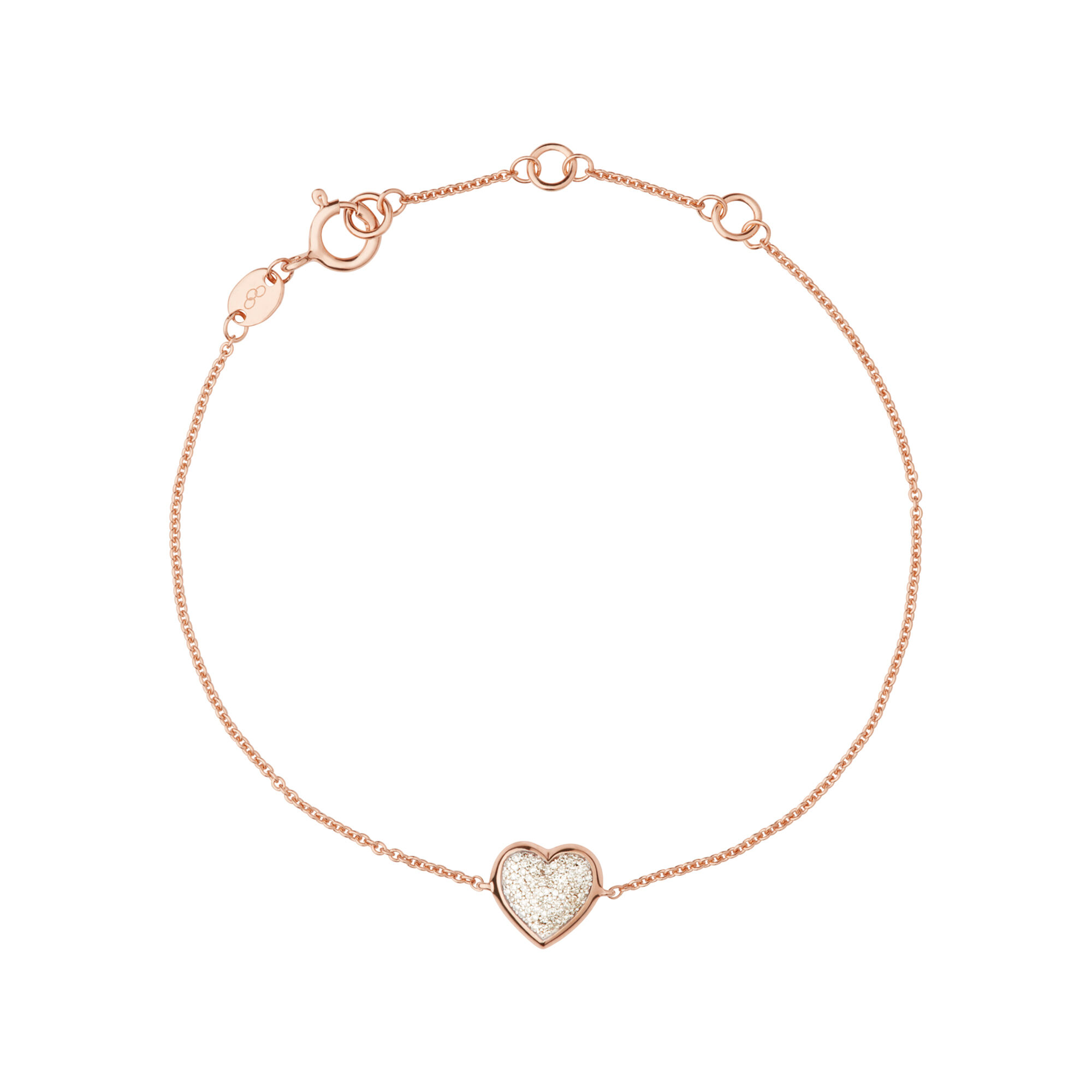 gold grey rose products heart orli bracelet jewellery and stretch bangle