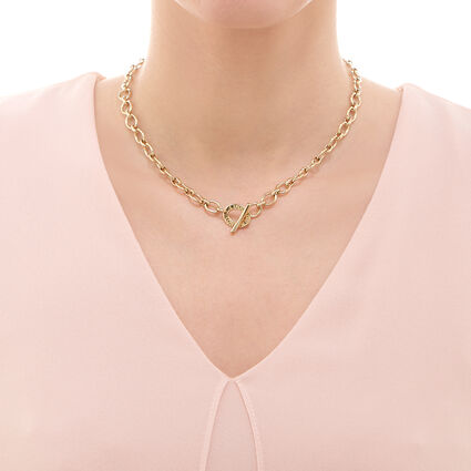 Classic Links of London Yellow Gold Necklace, , hires