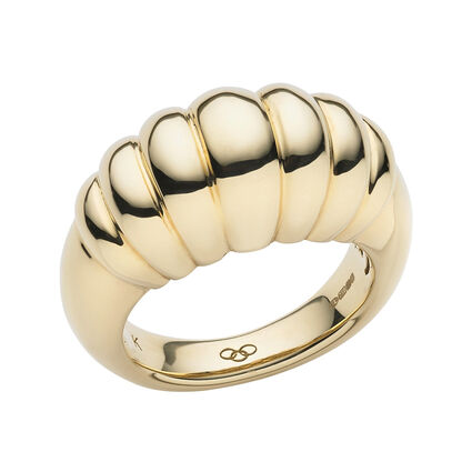 Sweetie 18kt Yellow Gold Signature Ring, , hires