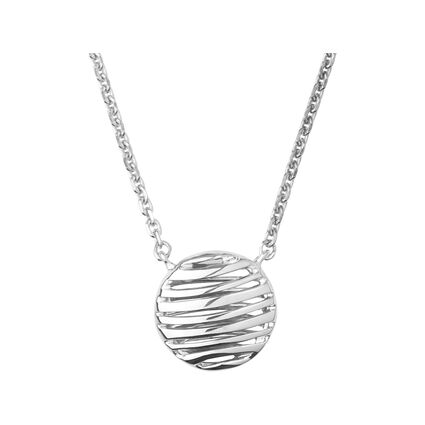 Thames Sterling Silver Necklace, , hires