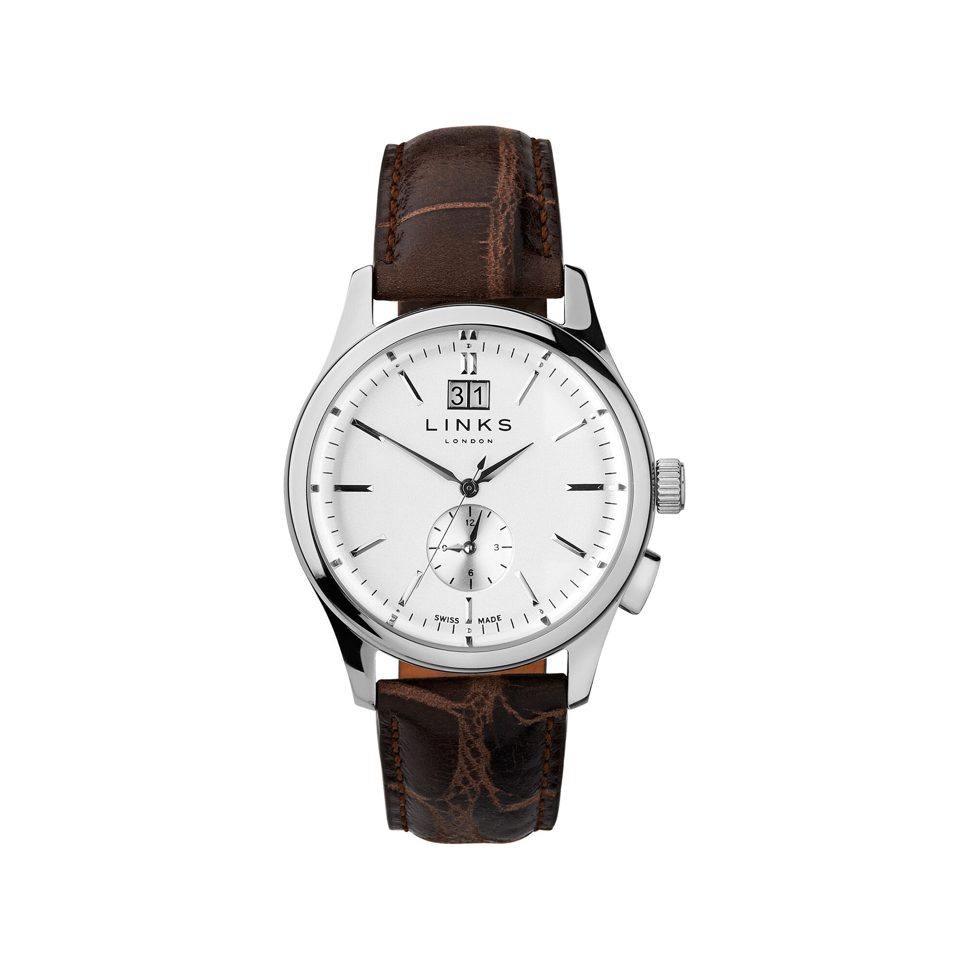 tan stitching leather product watches texture stitch with white light brown strap watch elegant