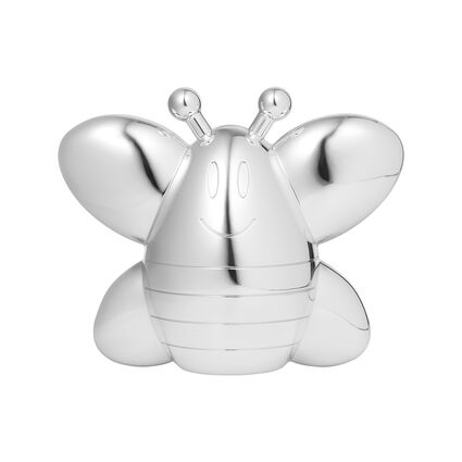 Little Friends Silver Plated Bee Bank, , hires