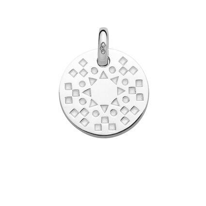 Ascot Narrative Sterling Silver Small Pendant, , hires
