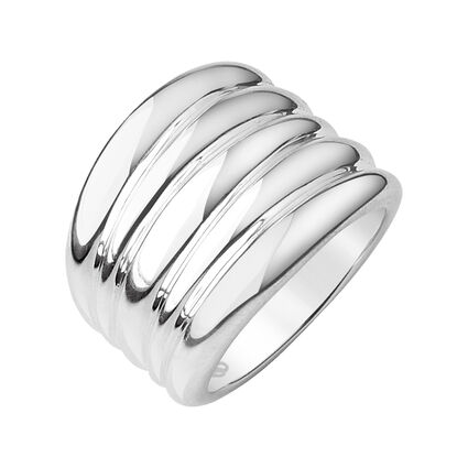 Hope Sterling Silver Wide Ring, , hires