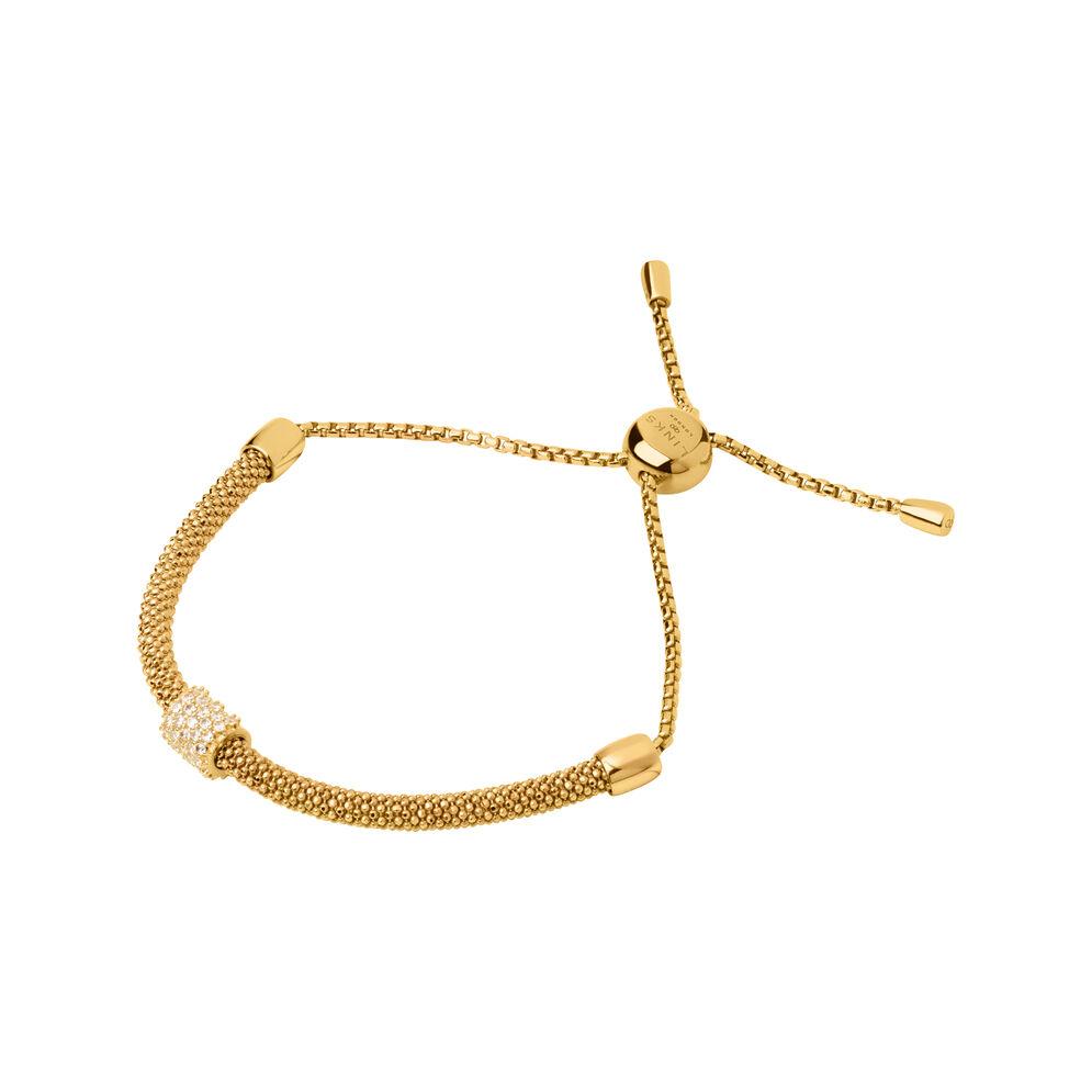 Starlight 18kt Yellow Gold Vermeil & Sapphire Bead Bracelet, , hires