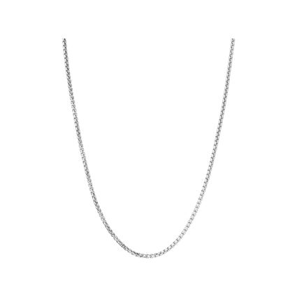 Essentials Sterling Silver Mini Box Belcher Chain, , hires