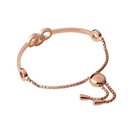 Signature 18kt Rose Gold Vermeil & Sapphire Bracelet, , hires