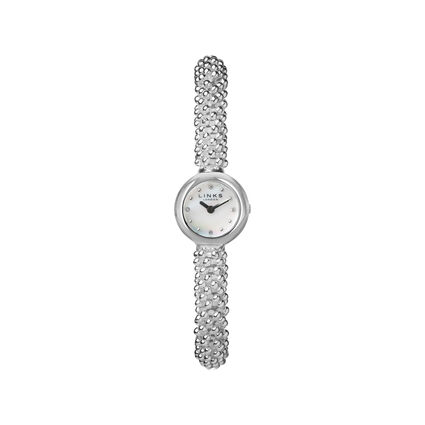 Effervescence Star Womens Stainless Steel & Sapphire Watch, , hires