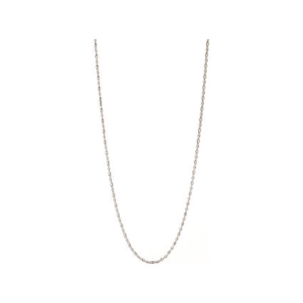 Essentials Sterling Silver Marina Chain 80cm, , hires