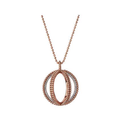 Effervescence 18K Rose Gold & Diamond Globe Necklace, , hires