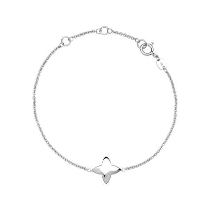 Splendour Sterling Silver Four-Point Star Bracelet, , hires