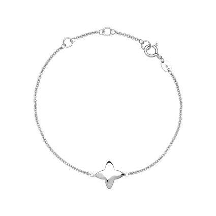 Splendour Sterling Silver Four-Point Star Bracelet, , hires