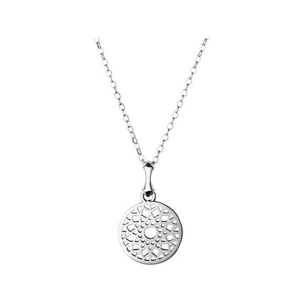 Timeless Sterling Silver Small Necklace, , hires
