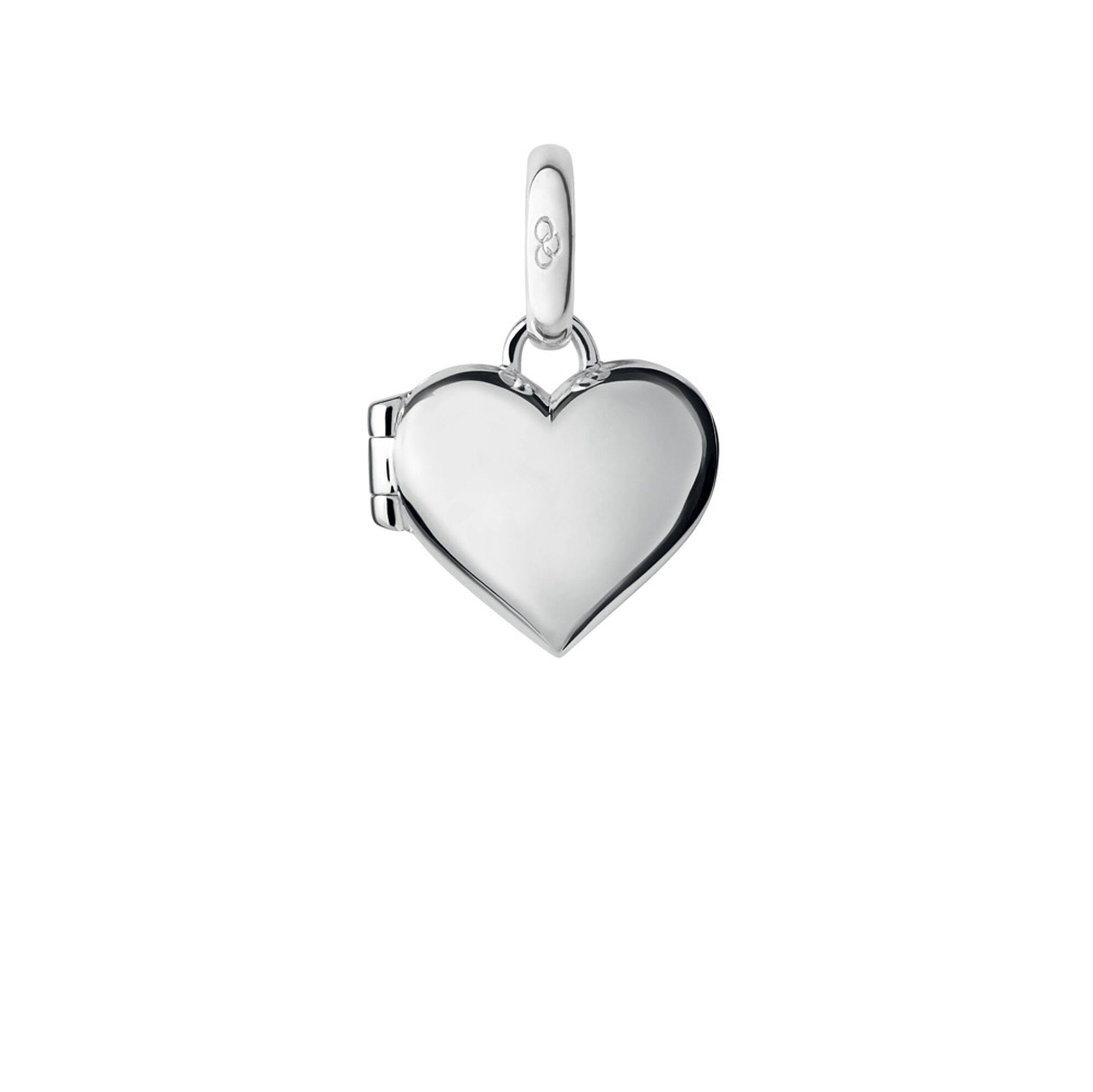 heart clear silver locket lockets necklace zirconia light assortment with cubi sterling necklaces blue