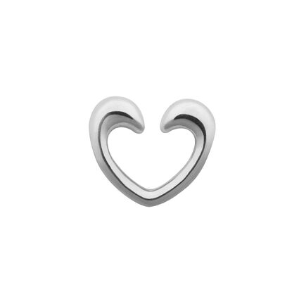 Sterling Silver Heart Charm Catcher, , hires