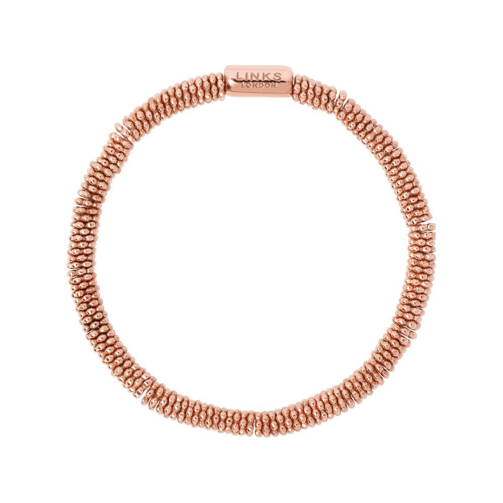 a4f8b96e3 Shoptagr | Effervescence Star Xs 18kt Rose Gold Vermeil Bracelet by Links  Of London