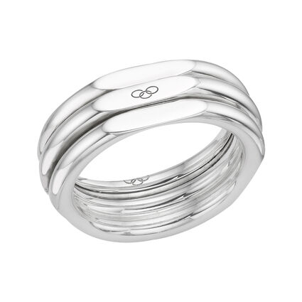 20/20 Sterling Silver Classic Ring, , hires