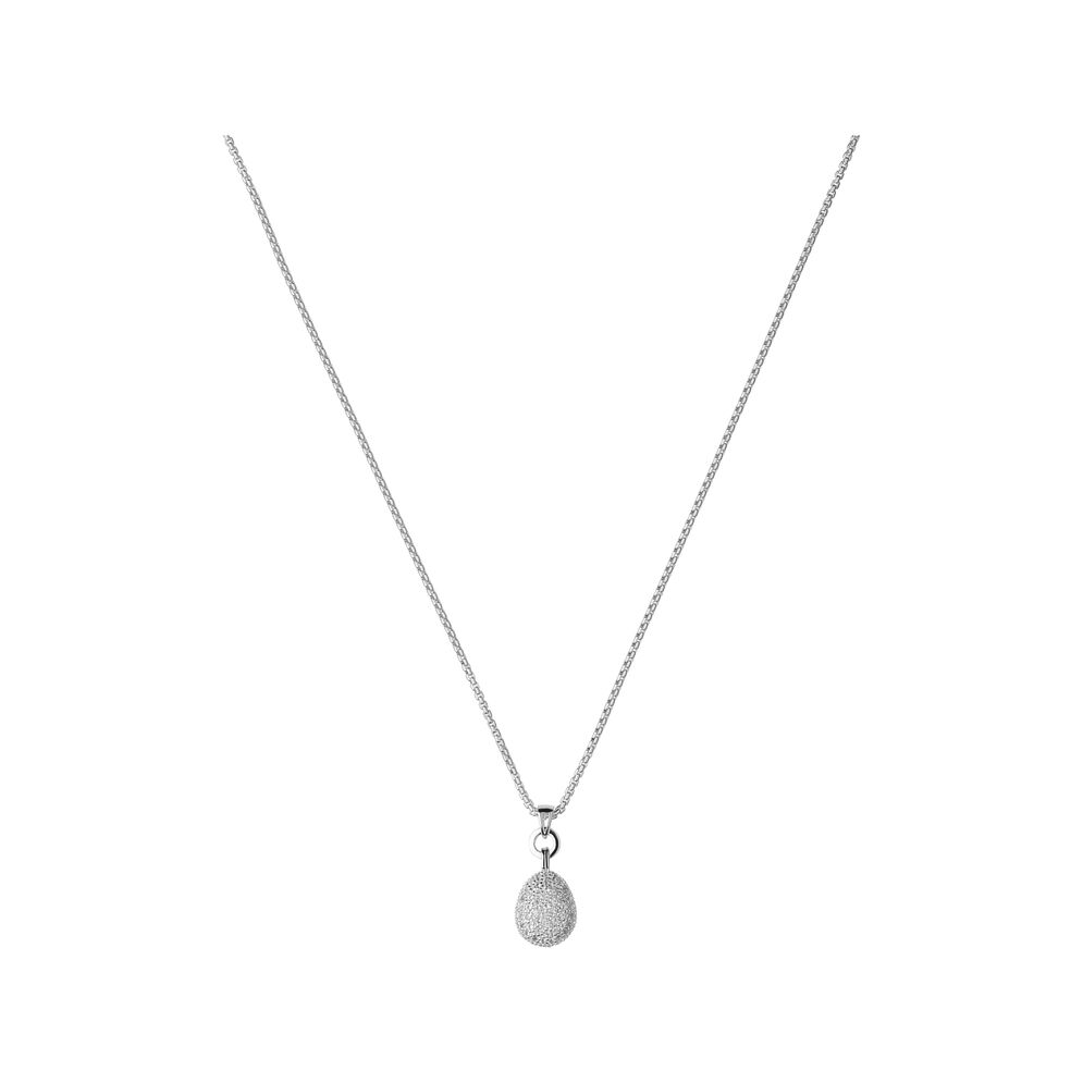 Hope Sterling Silver & White Topaz Necklace, , hires