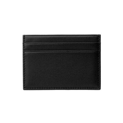 Black Leather Card Holder, , hires
