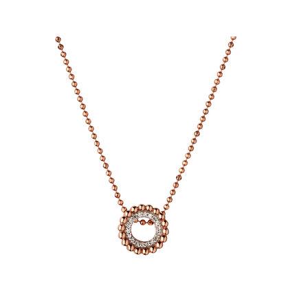 Effervescence 18kt Rose Gold & Diamond Mini Necklace, , hires