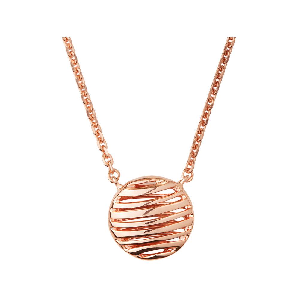 Thames 18K Rose Gold Vermeil Necklace, , hires