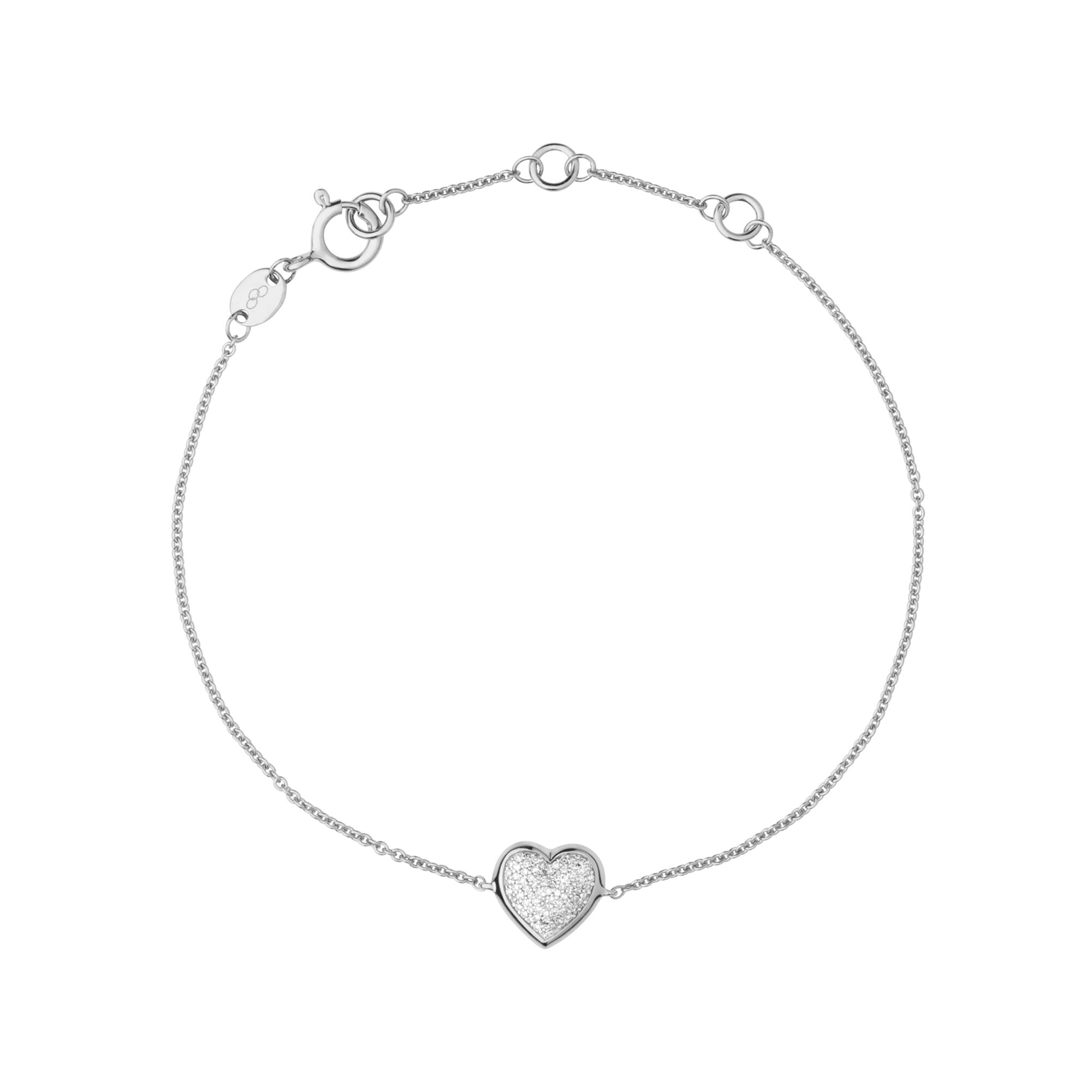 heart over mondevio free anklet with overstock chain double orders sterling figaro on product shipping silver watches jewelry