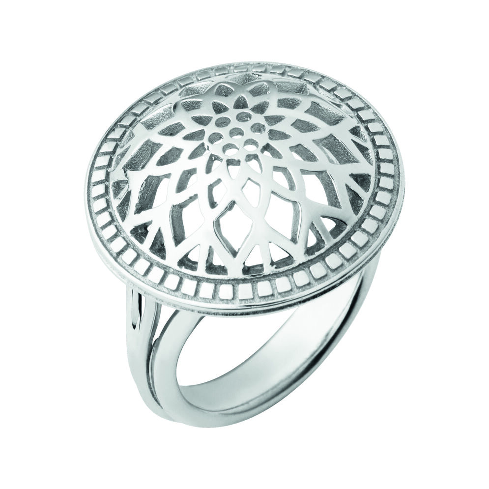 Timeless Sterling Silver Domed Ring, , hires