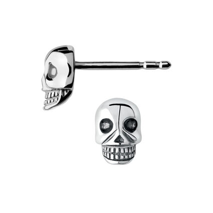 Mini Skull Stud Earrings, , hires